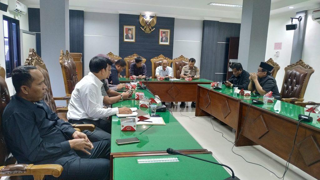 Sharing Soal Pemerintahan Desa, DPRD Ngawi Sambut Kunker Dewan Kabupaten Demak